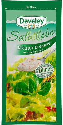 Develey Salatliebe Kräuter Dressing 75ml