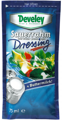 Develey Sauerrahm Dressing 75ml