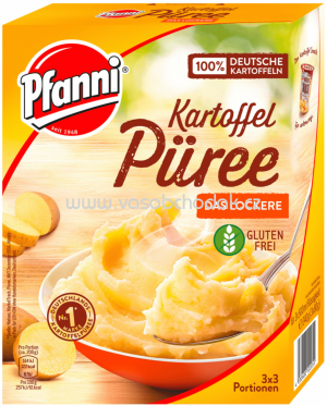 Pfanni Kartoffel Püree das Lockere, 3x500 ml