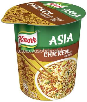 Knorr Asia Snack Becher Chicken Noodles, 65g