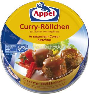 Appel Curry Röllchen 200g