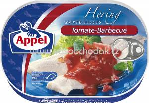 Appel Heringsfilets in Tomate-Barbecue Creme, 200g