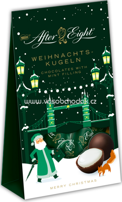 After Eight Weihnachtskugeln, 85g