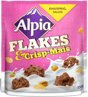 Alpia Flakes & Crisp-Mais, 150g