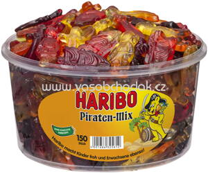 Haribo Piraten-Mix 150 St, Dose, 1200g