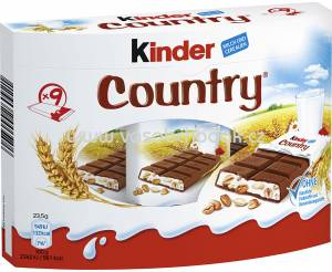 Kinder Country 9 St, 211,5g