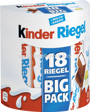 Kinder Riegel Big Pack, 18x21g