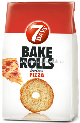 7 Days Bake Rolls Pizza, 250g