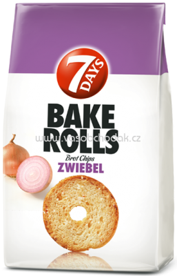 7 Days Bake Rolls Zwiebel, 250g