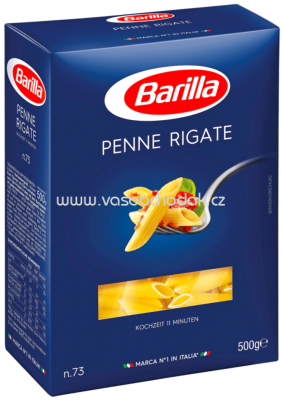 Barilla Pasta Nudeln Penne Rigate n.73, 500g