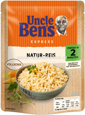 Uncle Ben's Express Natur Reis, 220g