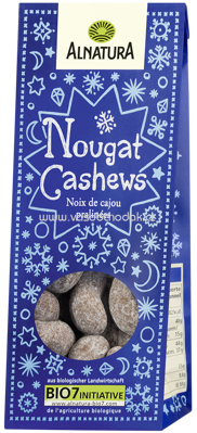 Alnatura Nougat-Cashews 90g