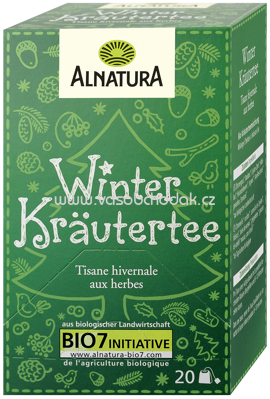 Alnatura Winterkräutertee 40g