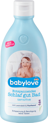 Babylove Entspannendes Schlaf gut Bad sensitive, 500 ml