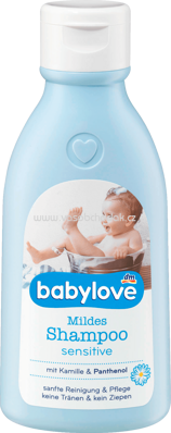 Babylove Mildes Shampoo Sensitive, 250 ml