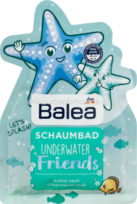 Balea Kids Schaumbad Underwater Friends, 40 ml