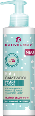 Bellybutton Pflegelotion Baby Samtweich, 250 ml