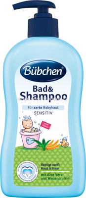 Bübchen Bad & Shampoo Sensitiv, 400 ml