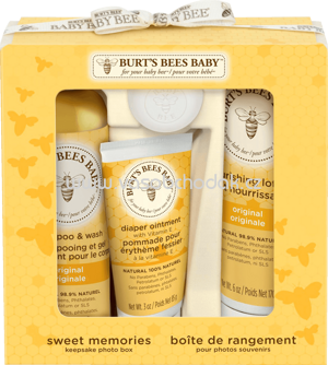 Burt's Bees Geschenkset Sweet Memories Keepsake Photo box, 1 St - ONL