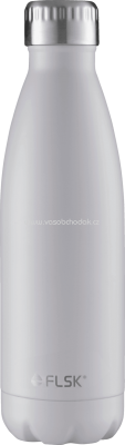 FLSK Isolierflasche 500ml, white, 1 St - ONL