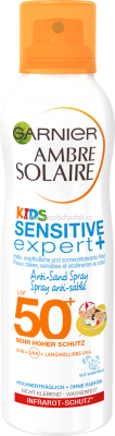 Garnier Sonnenspray Kids Anti Sand LSF 50+, 200 ml