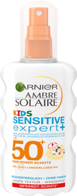 Garnier Sonnenspray Sensitive Expert Kids LSF 50+, 200 ml