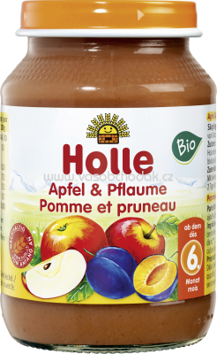 Holle baby food Apfel & Pflaume, ab 6. Monat, 190g