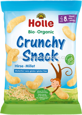 Holle baby food Crunchy Snack Hirse, ab 8. Monat, 25g