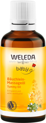 Weleda Baby-Bäuchlein-Massageöl, 50 ml