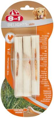 8in1 Huhn Delights Sticks, 2-35 kg, 3 St