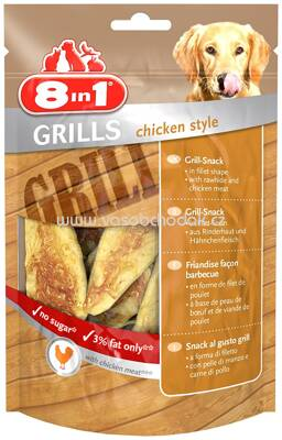 8in1 Grills Chicken Style, 80g