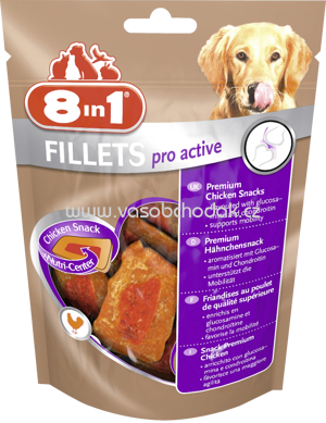8in1 Fillets Pro Active, 80g