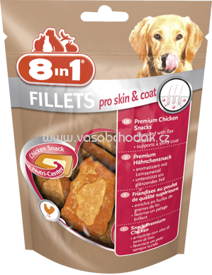 8in1 Fillets Pro Skin & Coat, 80g
