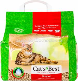 Cat's Best Öko Plus Katzenstreu Original, 10 kg