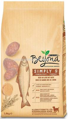 Purina Beyond Simply 9 Reich an Lachs mit Hafer, 1,4 kg