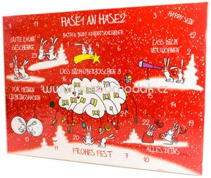 Accentra Adventskalender Bath & Body Hase 1 an Hase 2 2018, 1 St