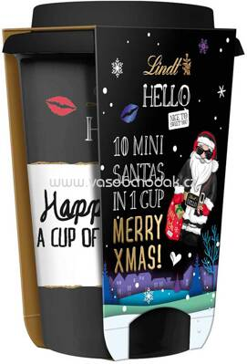 Lindt Hello Xmas To-Go Cup, 100g